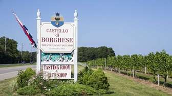Castello di Borghese in Cutchogue is Long Island's