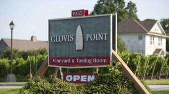 Clovis Point vineyard and winery offers wine tastings