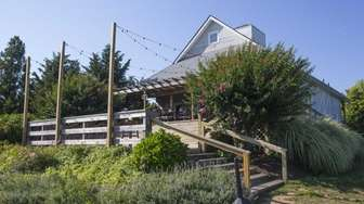 Corey Creek Vineyards in Southold features a barn-like