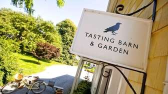 Croteaux Vineyards in Southold features a tasting barn