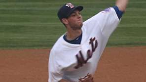 Mets rookie lefthander Steven Matz makes his third