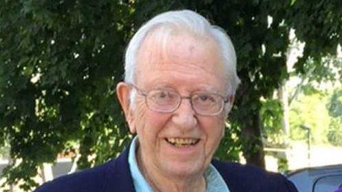 Warren Weilbacher, left, a former Newsday employee, has