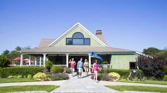 Macari Vineyards in Cutchogue, the smaller of two