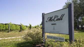 McCall Wines in Cutchogue was founded in 2007.