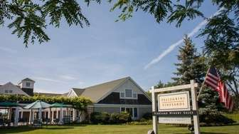 Pellegrini Vineyards is located in Cutchogue on the