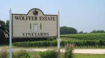 Wolffer Estate Vineyards is on Route 27 in