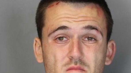 Michael Kessler, 26, of Oceanside, was arrested on