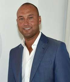 Derek Jeter attends the Players' Tribune party to