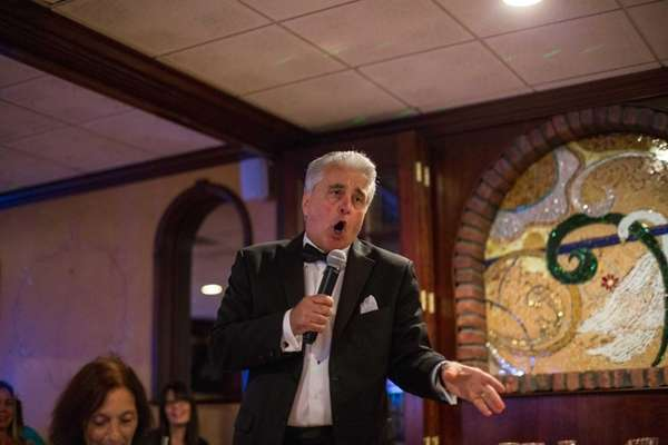 Frank Frizalone of Massapequa performs Frank Sinatra songs