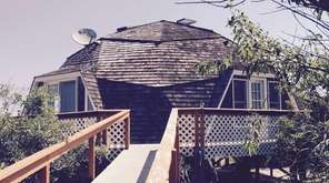 The famous dome house in Fire Island's Davis