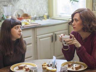 Bel Powley as Minnie Goetze, left, and Kristen