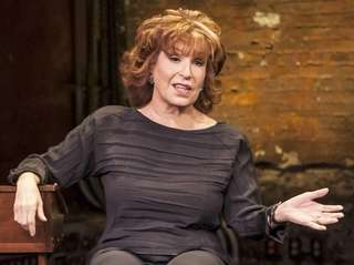 Joy Behar in her one-woman show,