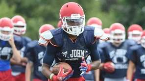 St. John the Baptist running back Jerome Brooks