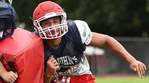 St. John the Baptist running back Nick Cipolla