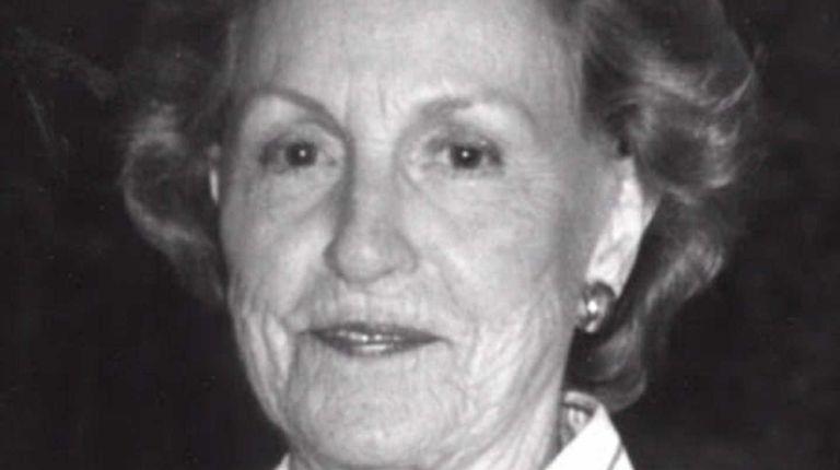Catharine G. Heyes died on Aug. 18, 2015