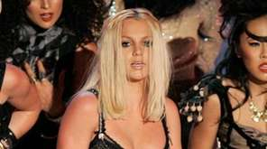 Britney Spears performs