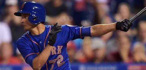 Carlos Torres of the New York Mets hits