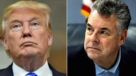Rep. Peter King told a political journalism organization