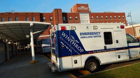 Winthrop-University Hospital in Mineola, seen on Dec. 10,