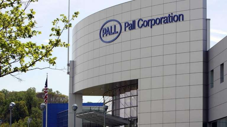 Pall Corp., the Port Washington-based company seen here