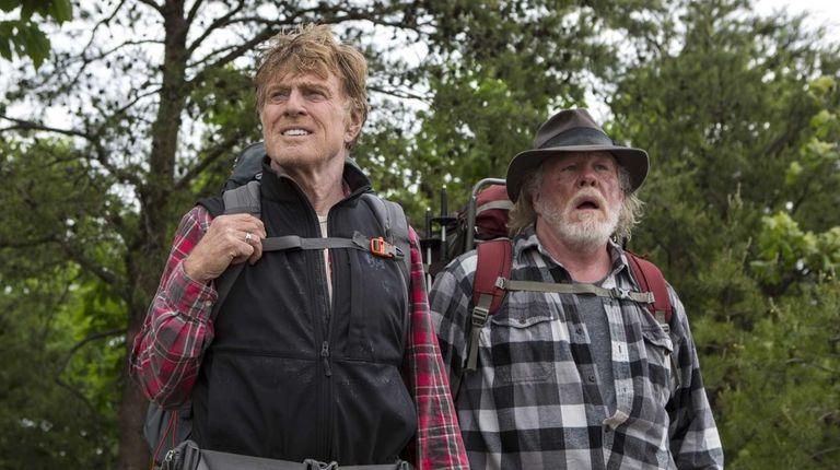 Robert Redford, left, and Nick Nolte in