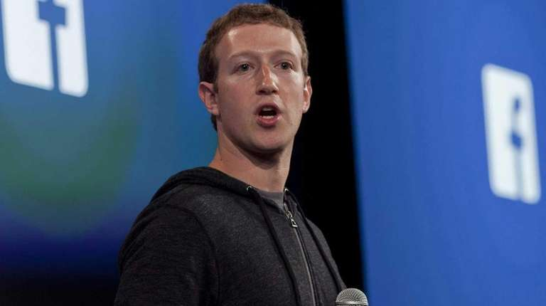 Facebook co-founder and CEO Mark Zuckerberg said on