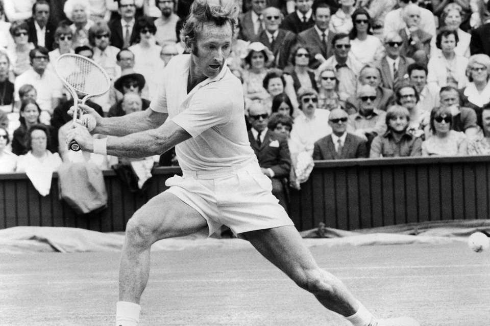 tennis laver rod slam player grand players budge don pro 1962 wimbledon won four afp newsday factfiles masters getty turned