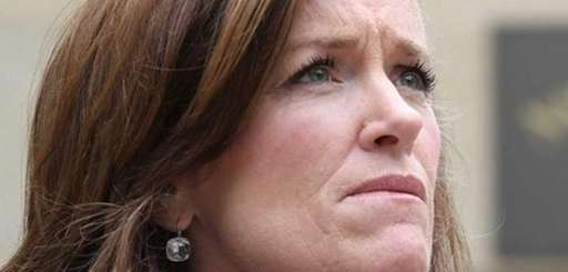 Then-Nassau County District Attorney Kathleen Rice outside the