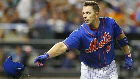 David Wright of the New York Mets tosses