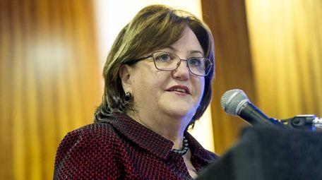 New York State's new education commissioner, MaryEllen Elia,