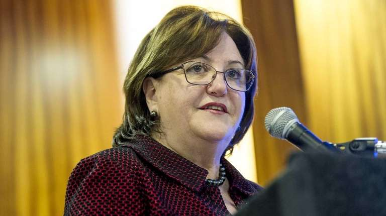 New York State's new education commissioner, MaryEllen Elia,