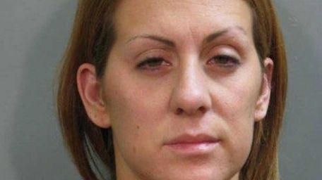 Marina Tsoukalis, 28, of Hicksville, was arrested Friday,