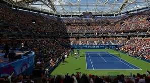 The band American Authors performs during Arthur Ashe
