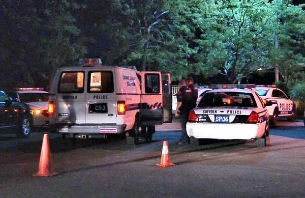 Suffolk County homicide squad detectives are investigating the
