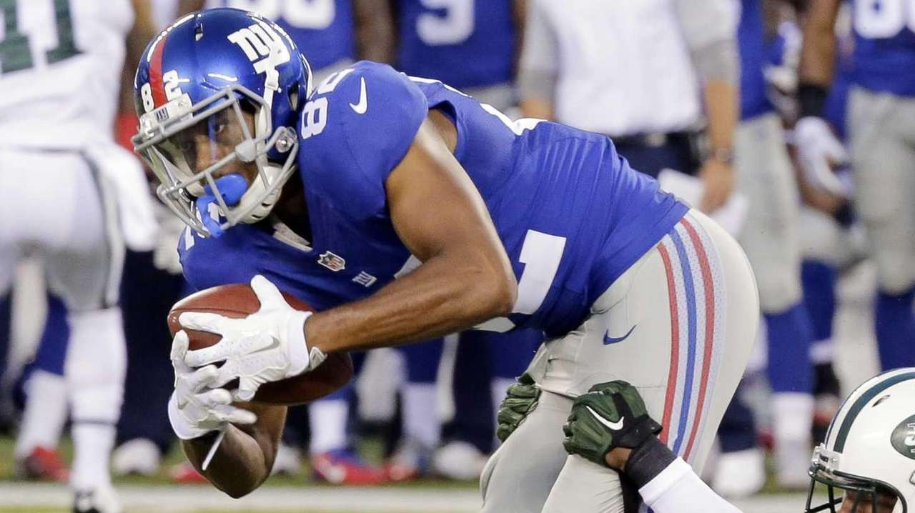 New York Giants wide receiver Rueben Randle is