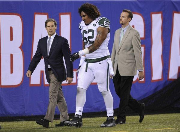 New York Jets defensive tackle Leonard Williams (62)