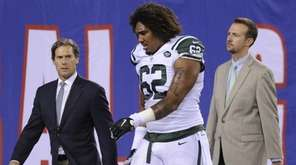 New York Jets defensive tackle Leonard Williams (62)