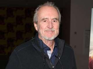 Wes Craven appears in New York City on
