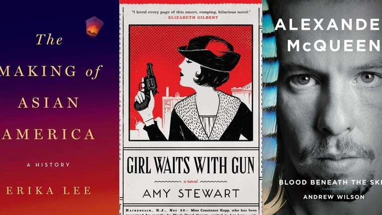 September books by Erika Lee, Amy Stewart and