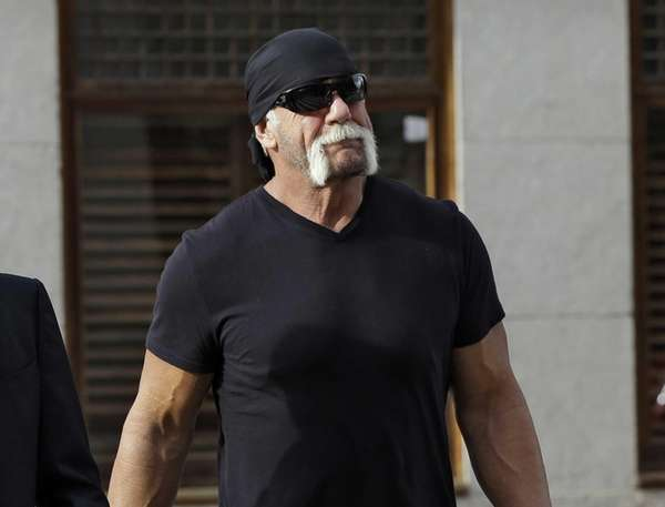 Former professional wrestler Hulk Hogan, whose real name