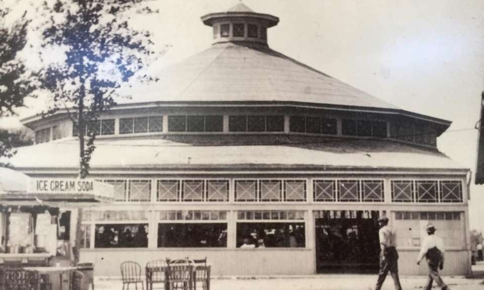 In 1939, William Nunley moved his carousel and