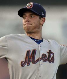 New York Mets pitcher Steven Matz delivers a