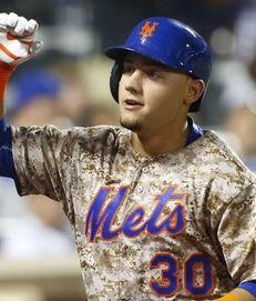 Michael Conforto #30 of the New York Mets