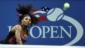 U.S. Open No. 1 seed Serena Williams won