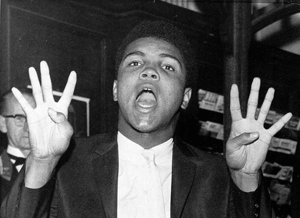 Muhammad Ali may be the greatest boxer of all time, but that's just a small part of the impact he made on society as a whole. From his outspoken demeanor around boxing to his political views, from his converting to Islam to his refusing to be drafted into the Vietnam War, Muhammad Ali is a transcendant cultural figure. (Newsday Staff)