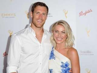 Julianne Hough and her fiance, NHL player Brooks