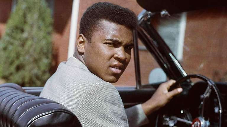 Muhammad Ali on April 2, 1963.