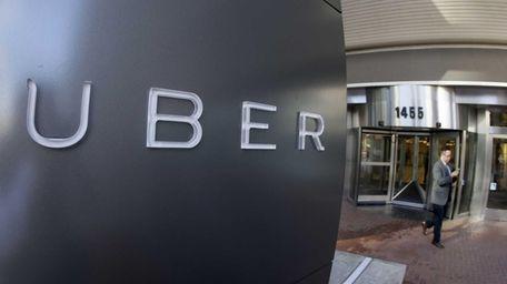 Uber headquarters on Dec. 16, 2014.