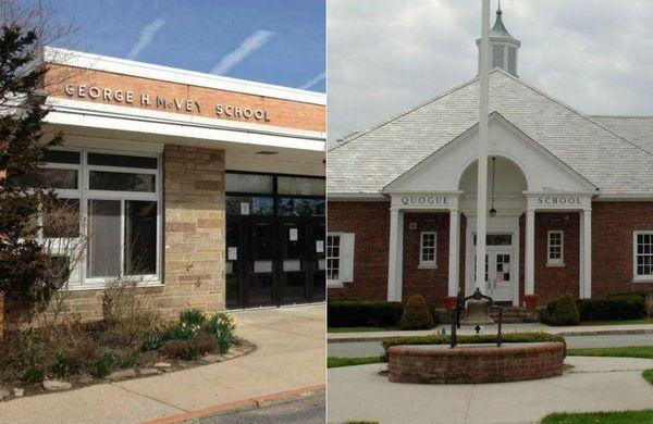 George H. McVey Elementary School in East Meadow
