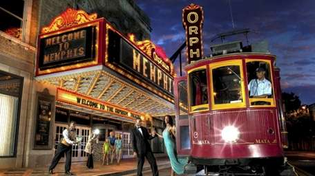 See a show at Memphis' Orpheum Theatre.
